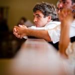Mariage pays basque photo de cérémonie ciboure